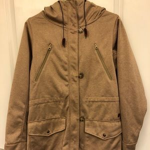 Like new tan Burton coat